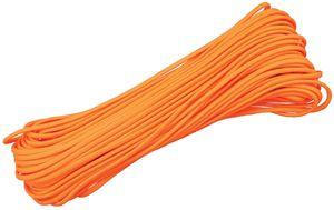 550 Paracord, Neon Orange, 100 Feet