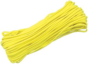 550 Paracord, Yellow, 100 Feet
