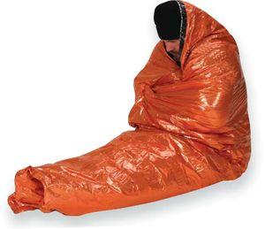 NDūR Emergency Survival Bag, Orange/Silver