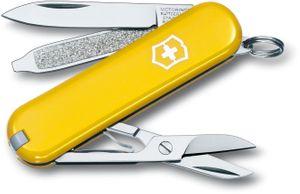 Victorinox Swiss Army Classic SD Multi-Tool, Yellow, 2-1/4 inch Closed