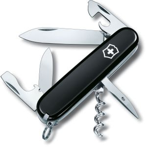 Victorinox Swiss Army Spartan Multi-Tool, Black, 3.58 inch Closed (Old Sku 53153)