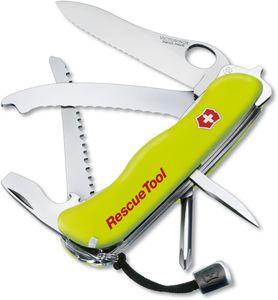 Victorinox Swiss Army RescueTool Multi-Tool, Yellow, 4.37 inch Closed (Old Sku 53900)
