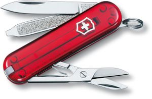 Victorinox Swiss Army Classic SD Multi-Tool, Ruby, 2-1/4 inch Closed