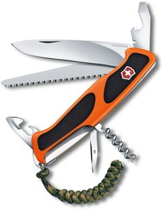 Victorinox Swiss Army 2019 Special Edition RangerGrip 55 Autumn Spirit Multi-Tool 5.125 inch Orange and Black Handles