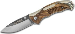Schrade 900OT Old Timer Assisted Folding Knife 2.875 inch Polished Plain Blade, Ironwood Handles
