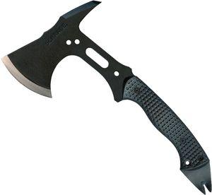 Schrade Extreme Tactical Hatchet 12.8 inch Overall, SK5 Steel, Black Zytel Handle, Nylon Sheath
