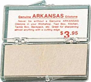Arkansas Stone -small soft whetstone 2-7/8 inch x 1-1/8 inch x 1/4 inch