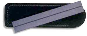 EZE-LAP Diamond Sharpener 1 inch x 6 inch Fine Grit Leather Sheath