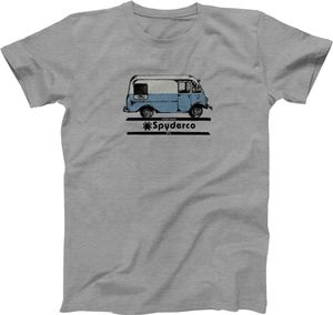 Spyderco Bread Truck Unisex T-Shirt, Heather Gray, Small