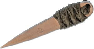 Strider Knives LM Nail Fixed CPM-154 Bronze Blade, 4.0 inch Overall, OD Green Cord Wrapped Handle, Kydex Sheath