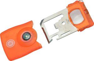 UST Ultimate Survival 13-in-1 Survival Card Tool, Orange