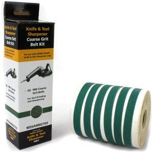 Work Sharp WSSA0002703 WSKTS P80 Coarse Belt Kit, 6 Pack