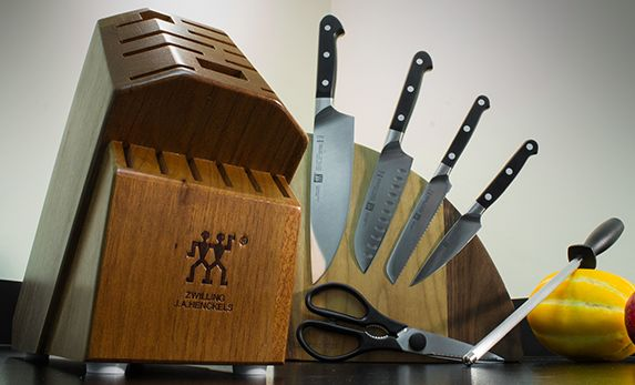 Zwilling J.A. Henckels Pro 7 Piece Knife Block Set 38445-000