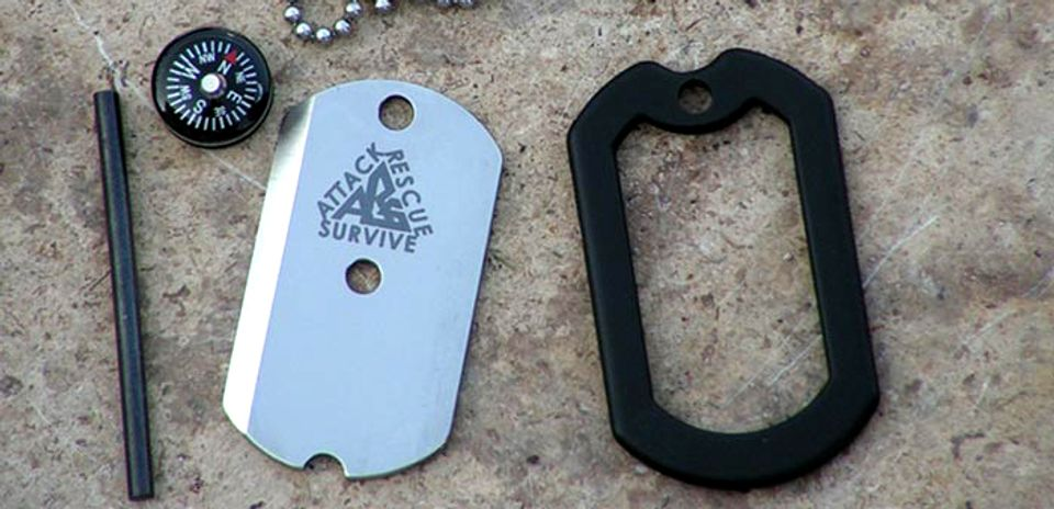 Dog Tag Knife (The Original)