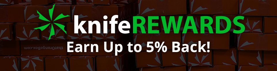 knifeREWARDS Earn Up to 5% Back!