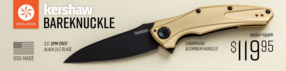 Shop for KnifeCenter Exclusive Kershaw Bareknuckle