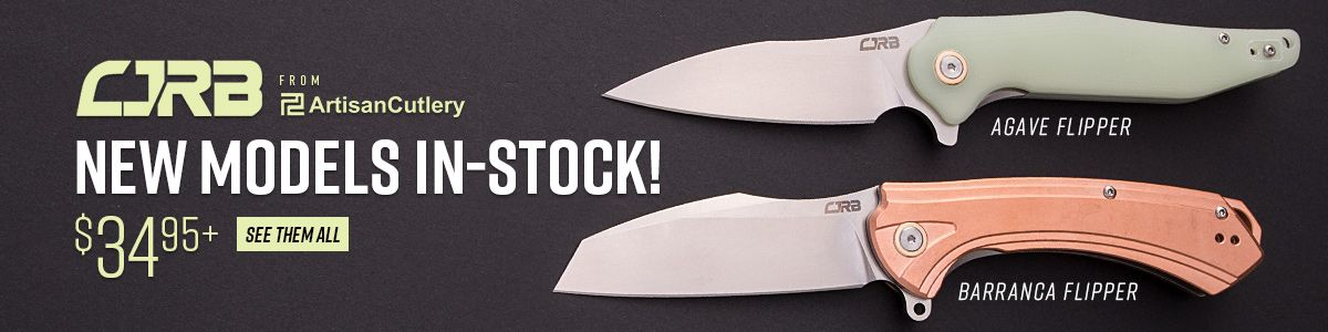 Shop for New CJRB by Artisan Cutlery
