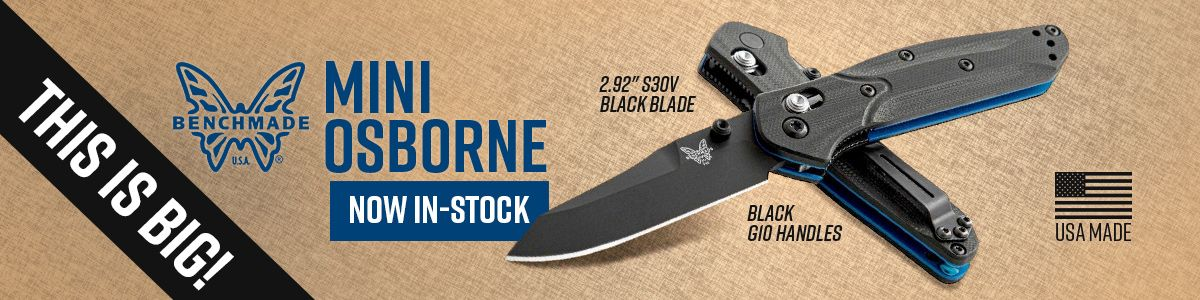 Shop for Benchmade Mini-Osborne Folding Knife