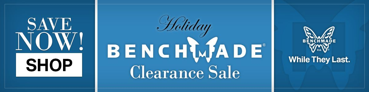 Shop Our Pre-Black Friday Benchmade Clearance Sale