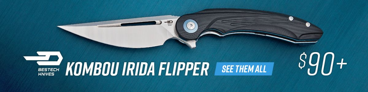 Shop for Bestech Knives Kombou Irida Flipper