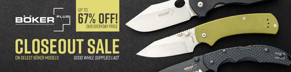 Shop Our Boker Closeout Sale!