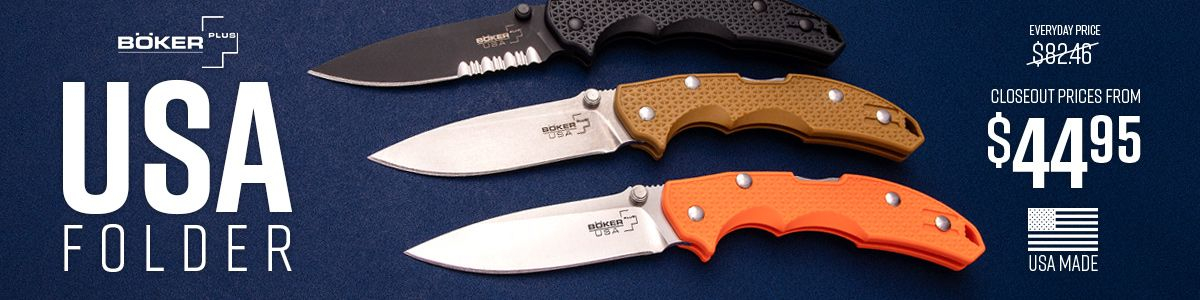 Shop for Boker Plus USA Series