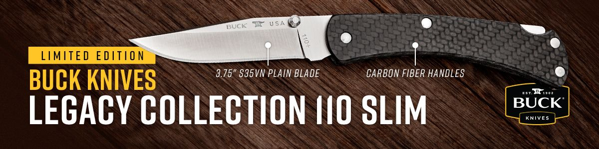 Shop for Buck Legacy Collection 110 Slim CF Folding Hunter