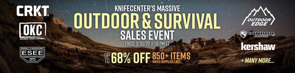 Shop Our Massive Outdoor & Survival Sales Event