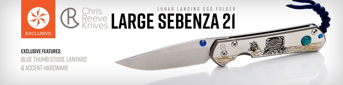 Shop for KnifeCenter Exclusive Chris Reeve Large Sebenza