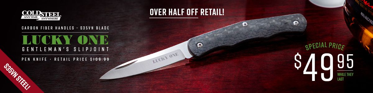 Shop for Cold Steel Lucky One Slipjoint Pen Knife