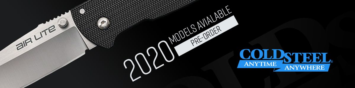 Shop New 2020 Cold Steel Models!