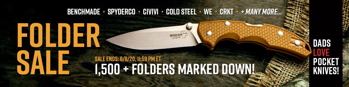 Shop Our Folding Knife Sale!
