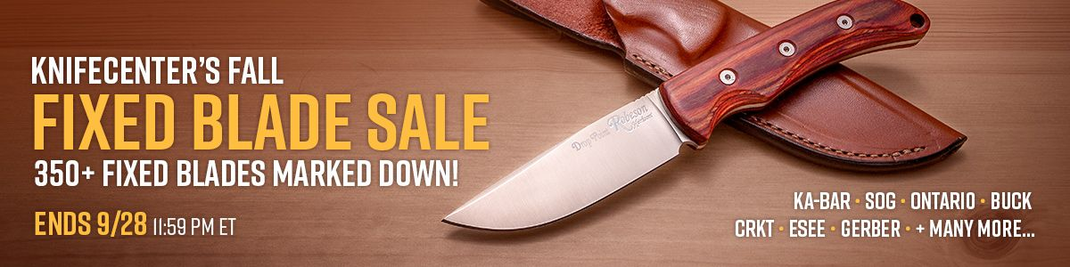 Shop Our Fixed Blade Sale!
