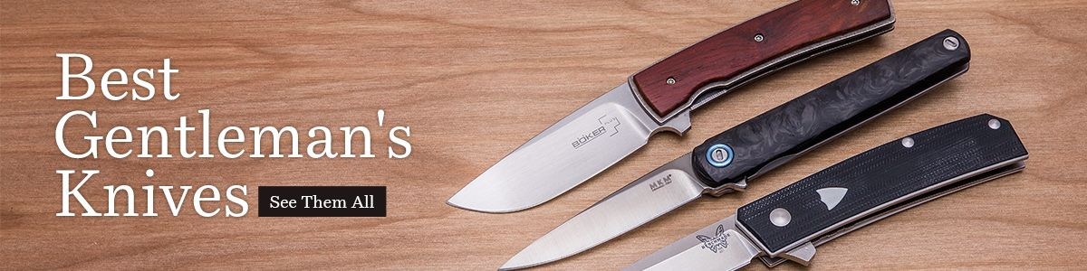 Shop for the Best Gentleman's Carry Pocket Knives