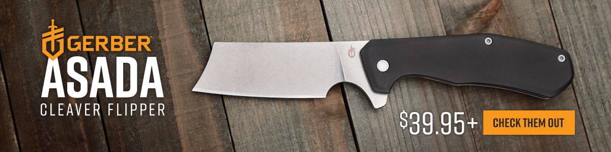Shop for Gerber Asada Cleaver Flipper