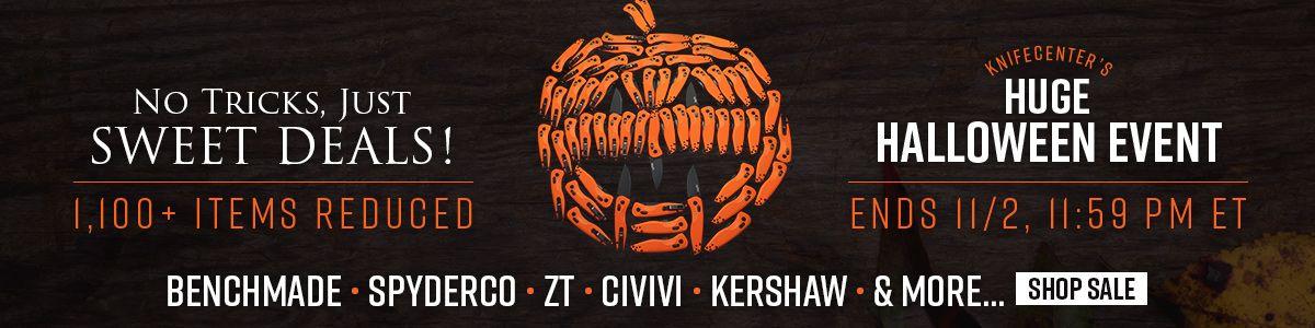 Shop KnifeCenter's Huge Halloween Event