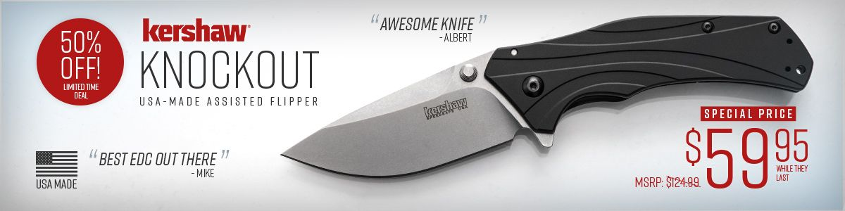 Shop for Kershaw USA-Made Knockout