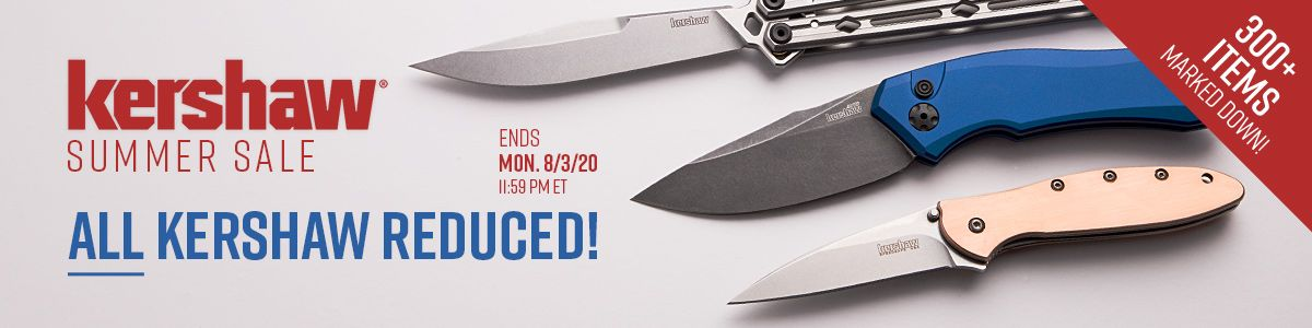Shop Our Summer Kershaw Sale