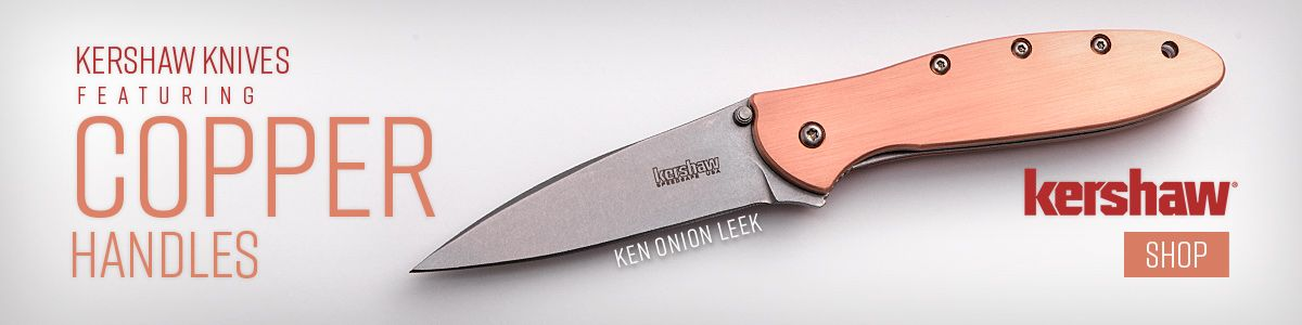 Shop for Kershaw Knives Featuring Copper Handles