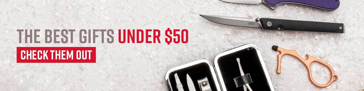 Shop for Knives and Gear Under $50
