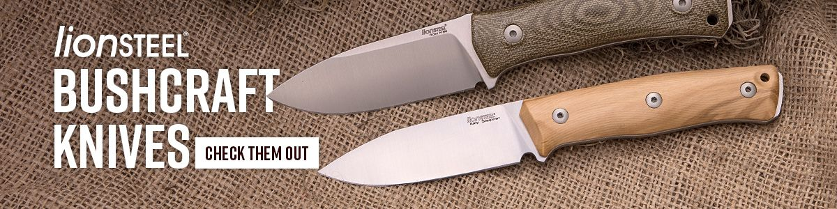 Shop for Lionsteel Bushcraft Knives
