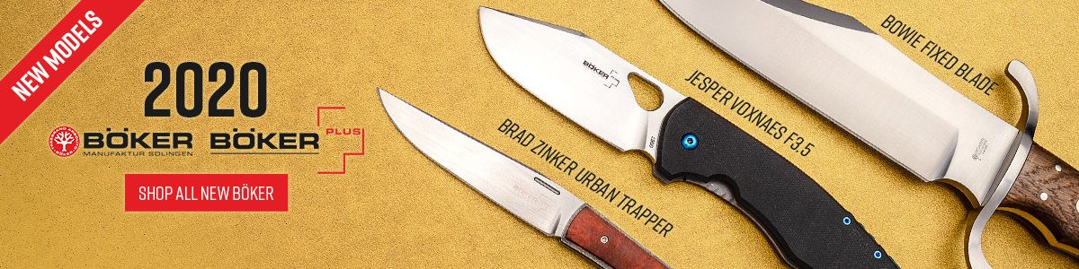 Shop for New 2020 Boker Knives