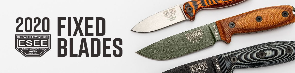 New 2020 ESEE Fixed Blades