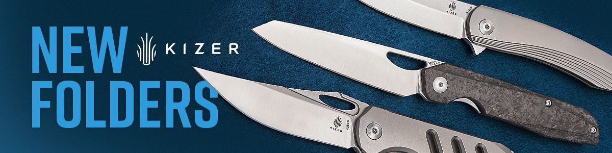 Shop for New Kizer Cutlery Folders!