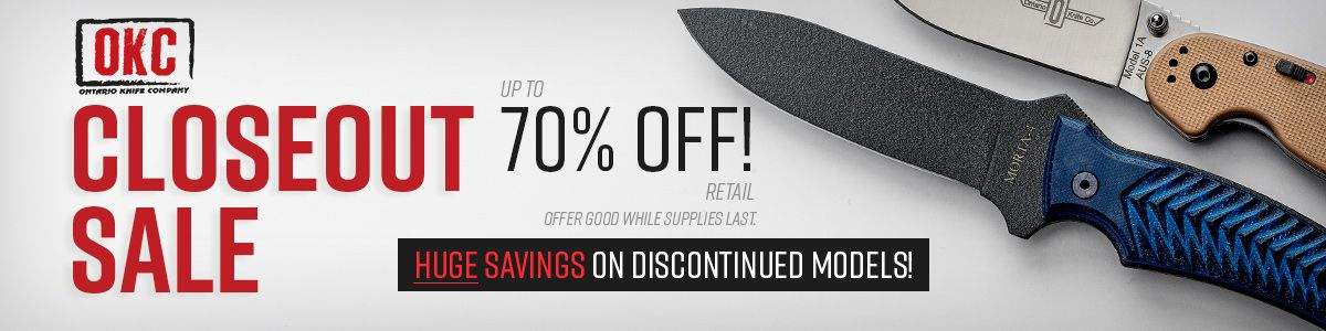 Shop for Ontario Knives Closeout Specials