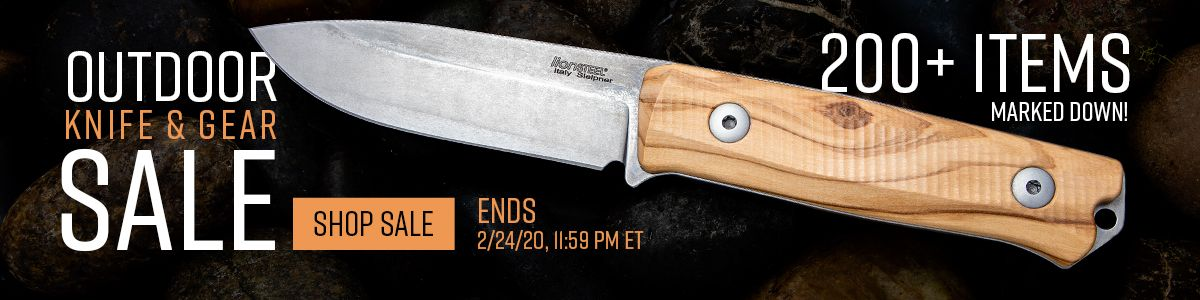 Shop Our Outdoor Knife and Gear Sale