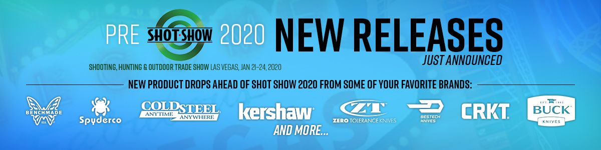 Shop Pre-SHOT Show 2020 New Releases!