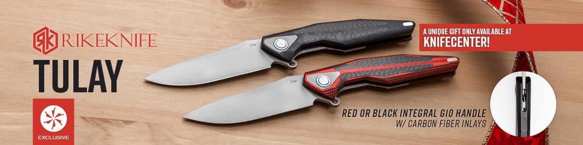 Shop for the KnifeCenter Exclusive Rike Tuly Flippers
