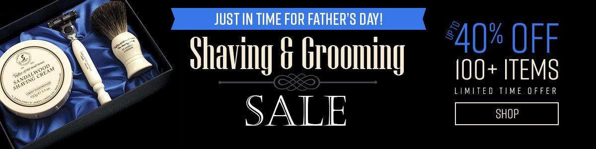 Shop Our Shaving and Grooming Gift Sale