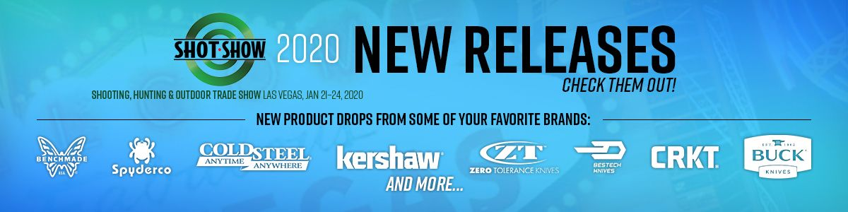 Shop SHOT Show 2020 New Releases!